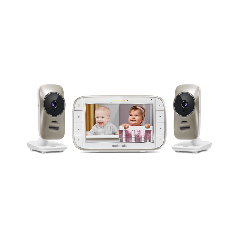 Motorola Mbp845connect 2 5 Video Baby Monitor With Wifi With 2 Cameras Motorola
