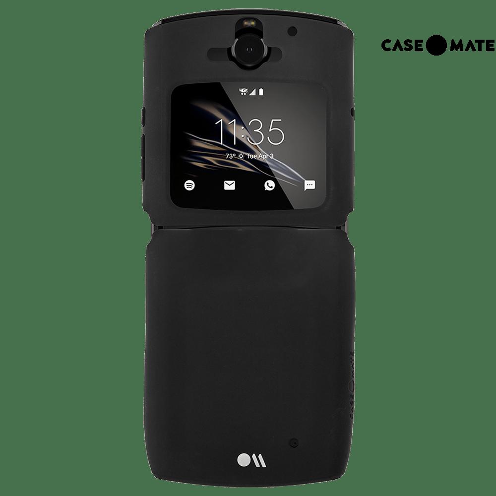 case-mate tough case for razr (2019, black)