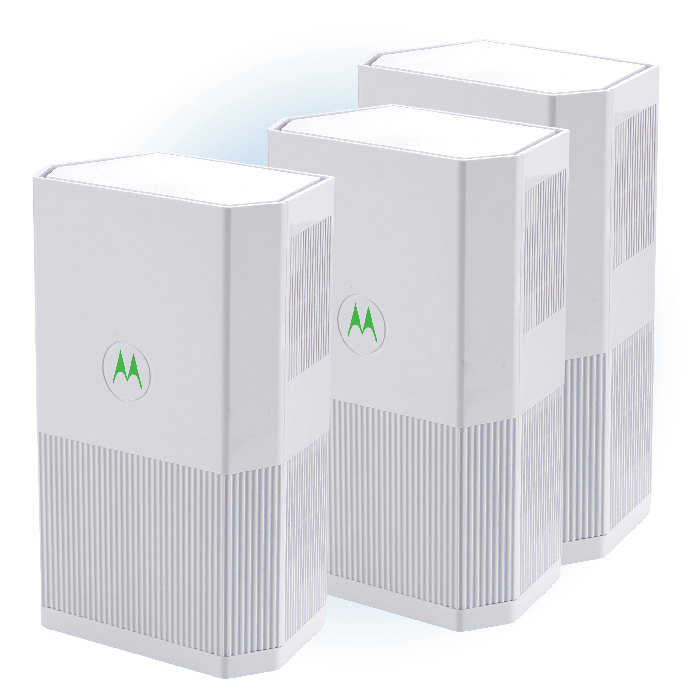 MH7023 Whole Home Mesh WiFi System, Router + 2 Satellites (3-Pack)