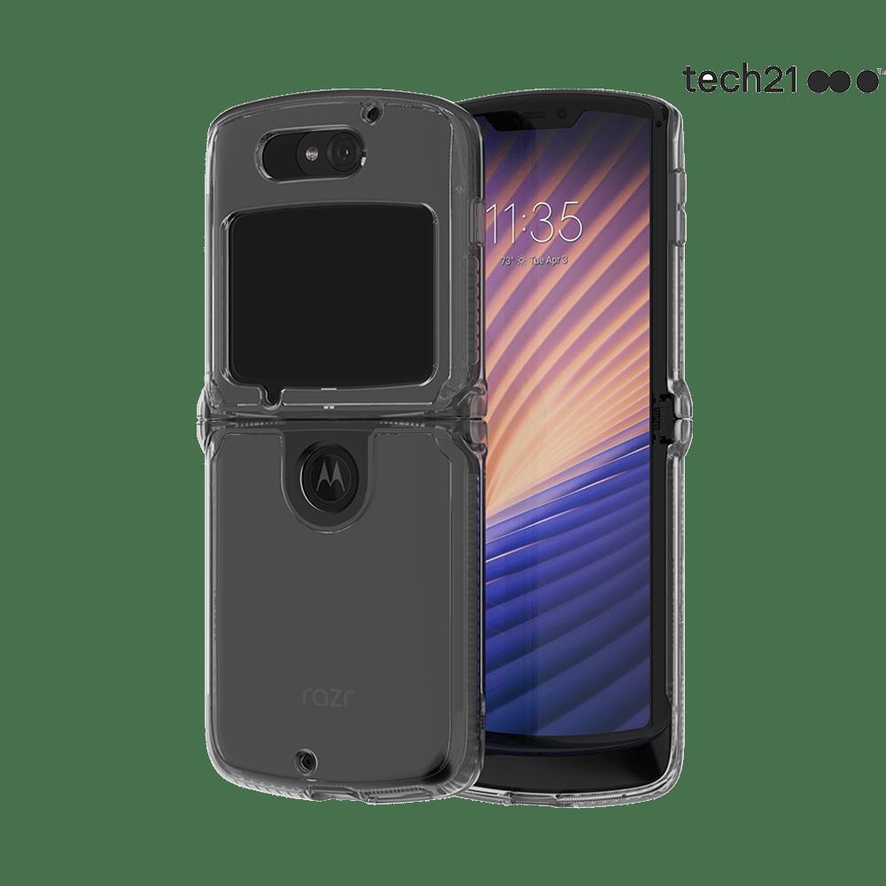 Tech21 EvoClear case for razr (5G)