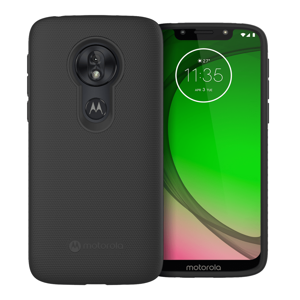 Motorola Essentials case for Moto g⁷ Play / g⁷ Optimo - Black