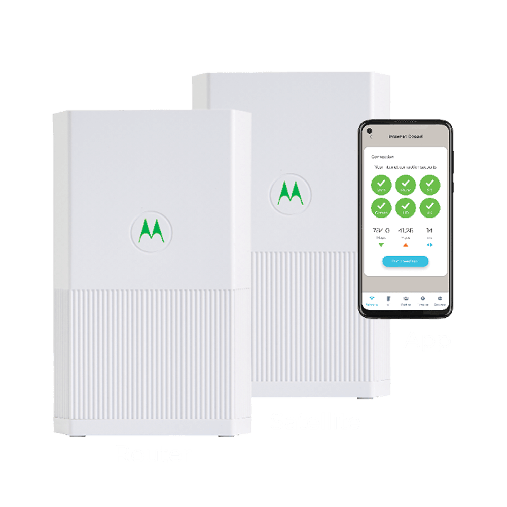 MH7022 Mesh Router + Satellite (2-Pack)