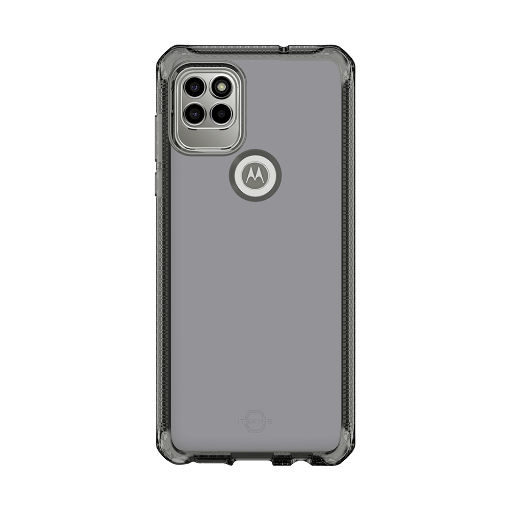 itskins spectrum clear antimicrobial case for moto g stylus 5g