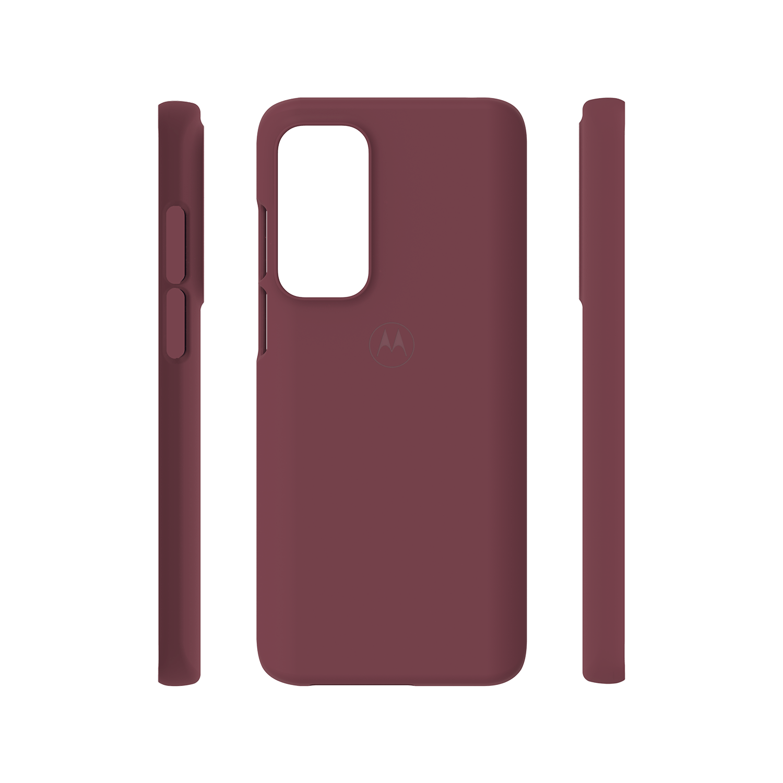 motorola edge (2021) protective case-marsala/wine red