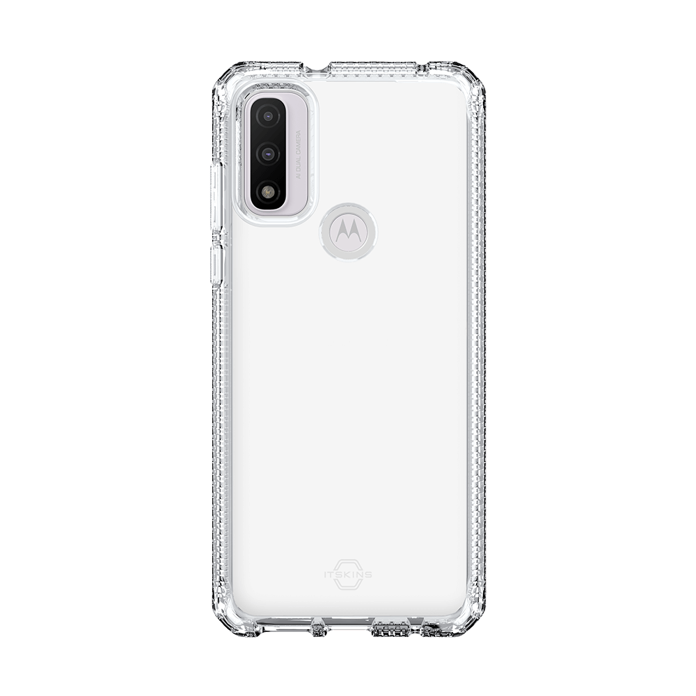 itskins spectrum clear antimicrobial case for moto g pure-clear