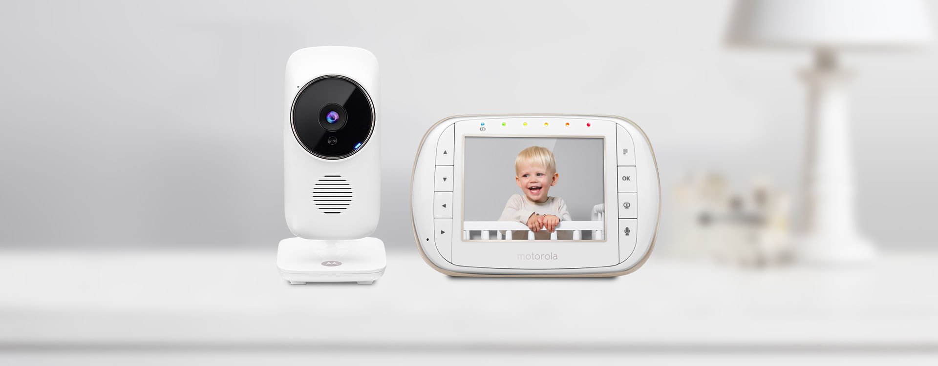 Motorola Mbp668connect 3 5 Video Baby Monitor With Wi Fi Motorola